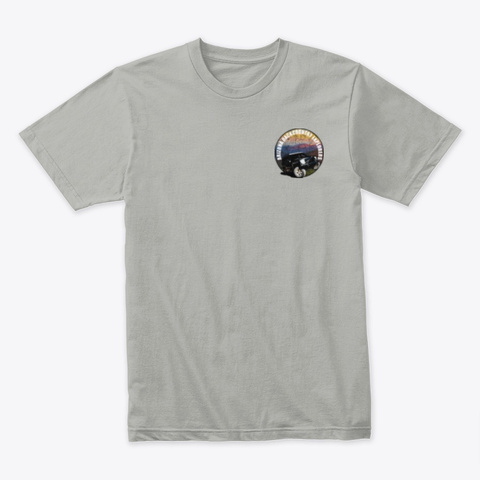 Tree Huggers Light Grey T-Shirt Front