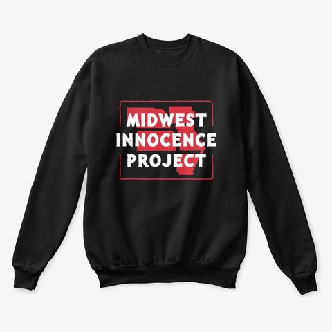Mip Crewneck Sweatshirt (Dark) Black T-Shirt Front