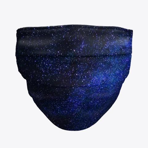 blue sky tie dye cloth face masks