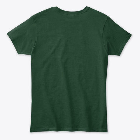 Joy Christmas Tree Isn't The Only Thing Forest Green T-Shirt Back