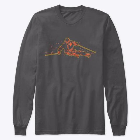 Ski T Shirt   Skier Carving Shirt  Heavy Metal T-Shirt Front