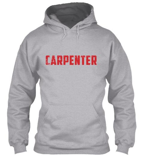 Carpenter Sport Grey T-Shirt Front