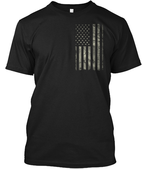 2 Things Americans Should Know (Mp) Black T-Shirt Front