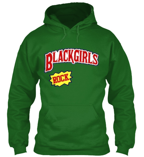 Black Girls Rock Irish Green T-Shirt Front