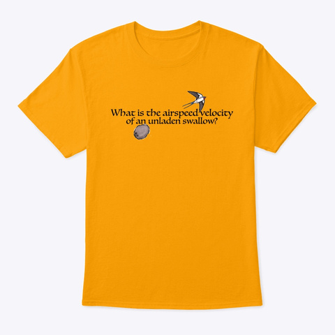 Airspeed Gold T-Shirt Front