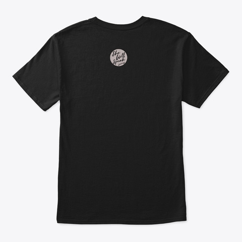 S.W.S.S Definiton Shirt  Black T-Shirt Back