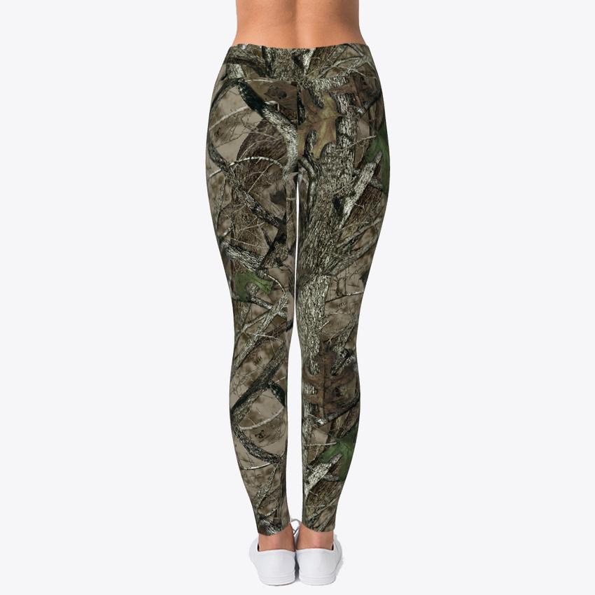 7c97cae1892d2 Womens Hunting Camo Leggings Women's Print Fitness Stretch *Leggings ...
