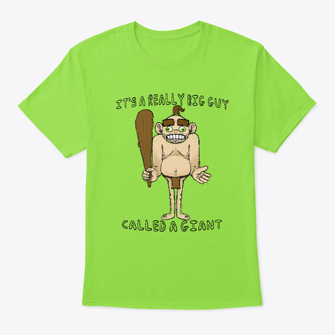 The Giant Lime T-Shirt Front