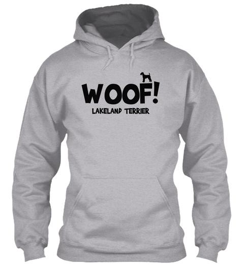 Lakeland Terrier Sport Grey T-Shirt Front