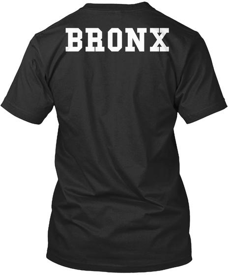 Bronx Black T-Shirt Back