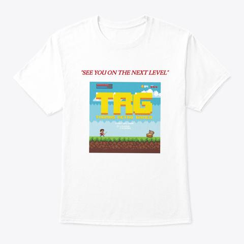 Thomas Retro Gamer White T-Shirt Front
