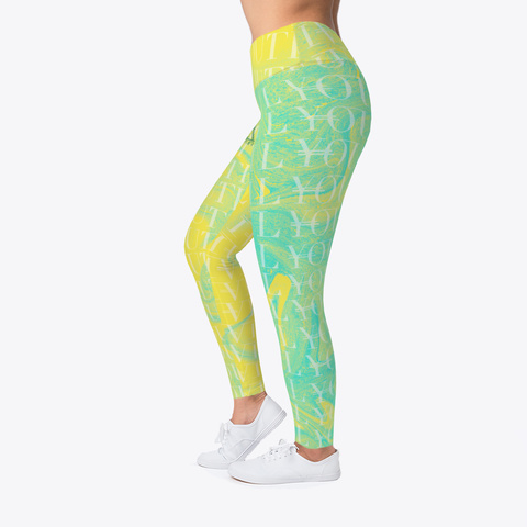 Women's Athletic Camouflage Leggings Standard T-Shirt Left