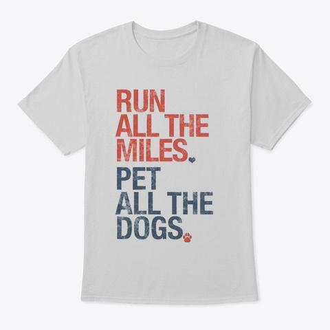 Run All Shirt Light Steel T-Shirt Front