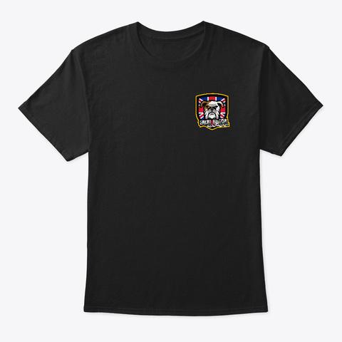 Gbgc   Great British Gaming Community Black T-Shirt Front