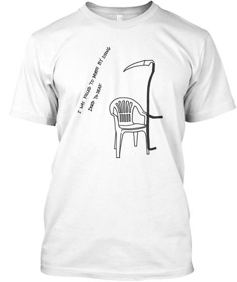 Informal Socko White T-Shirt Front
