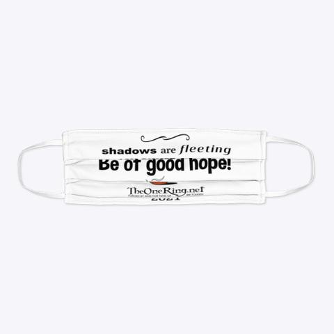 Be Of Good Hope! Standard T-Shirt Flat