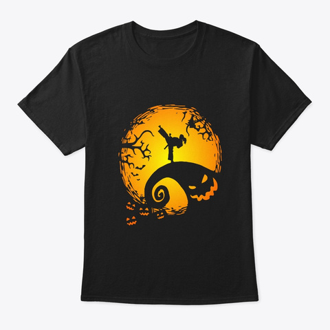 Funny Taekwondo Girls Halloween Gifts  Black T-Shirt Front