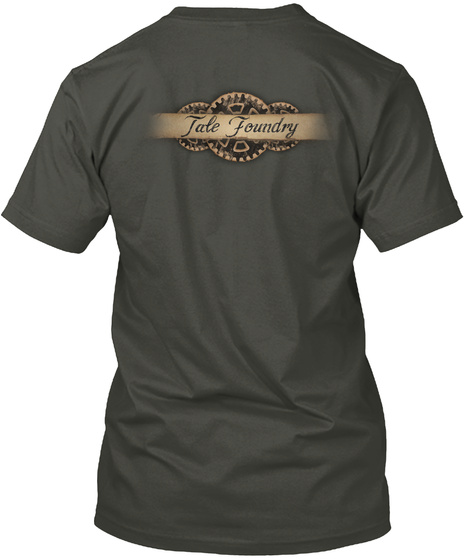 Tale Foundry Smoke Gray T-Shirt Back