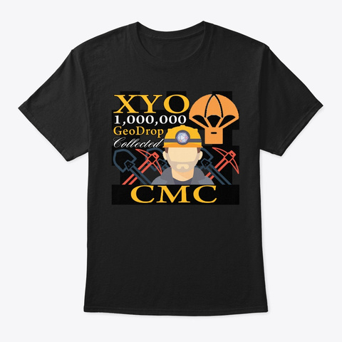 Xyo Cmc Design Black T-Shirt Front