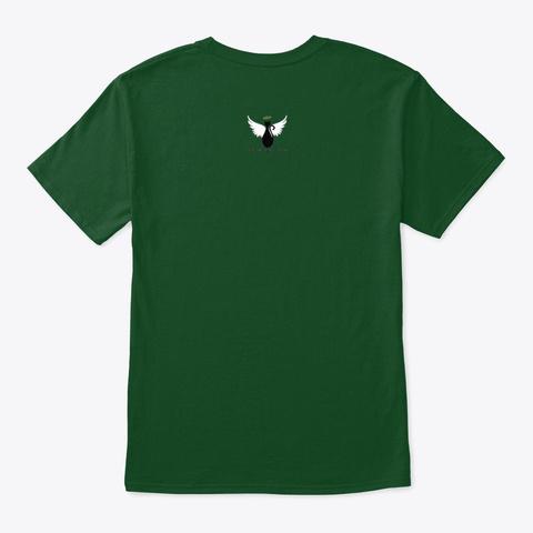 Sparty Memorial Shirt Deep Forest T-Shirt Back