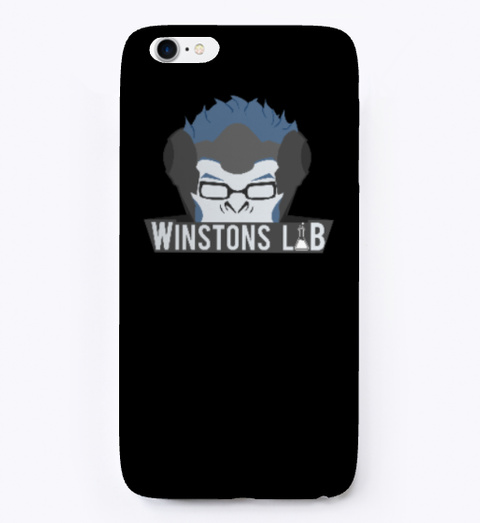 I Phone Cases Black T-Shirt Front