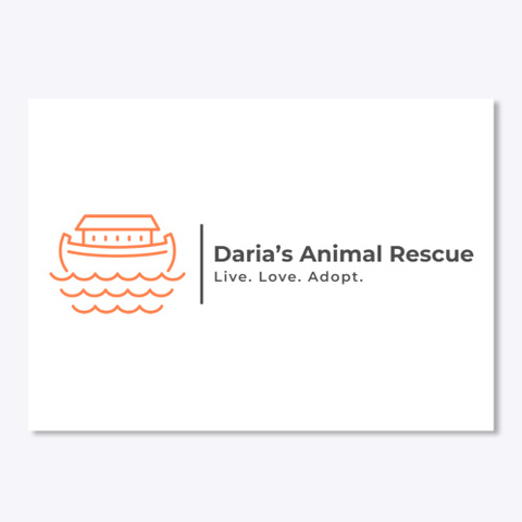 Daria's Animal Rescue Merchandise White T-Shirt Front