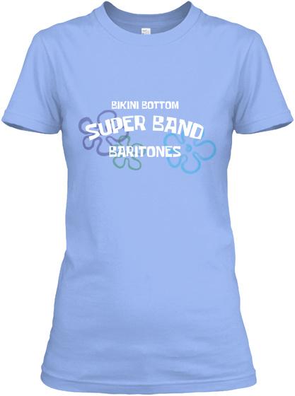 Bikini Bottom Baritones Light Blue T-Shirt Front