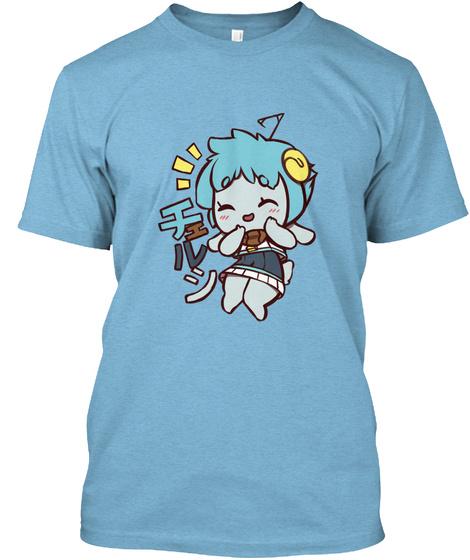 Giggly Chelsi Shirt Aqua T-Shirt Front