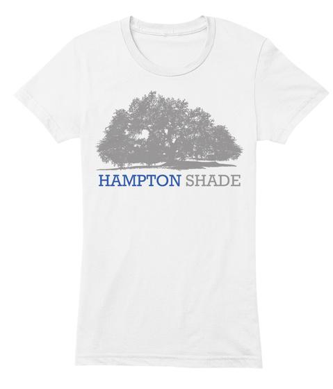 Hampton Shade White T-Shirt Front