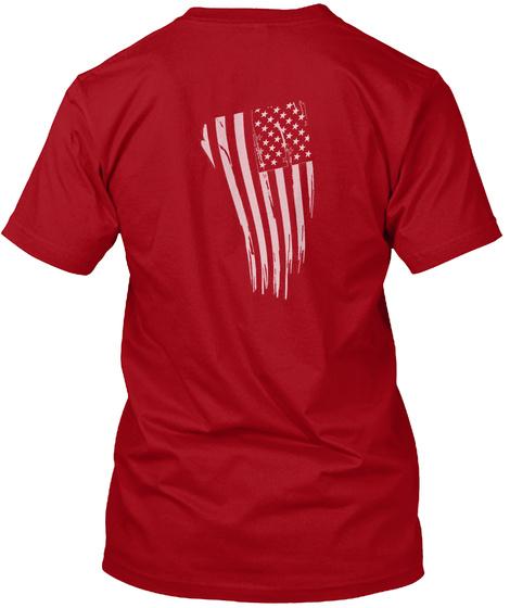 O/I. Deep Red T-Shirt Back