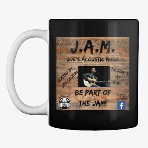Jam   Govs Radio Black T-Shirt Front