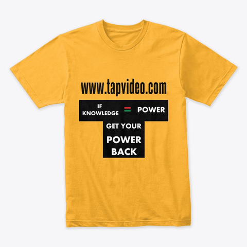 Trans Atlantic Productions Gold T-Shirt Front
