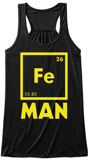 Chemical Element For Im Black T-Shirt Front