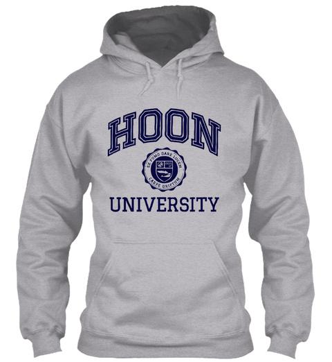 Hoon University  Sport Grey T-Shirt Front