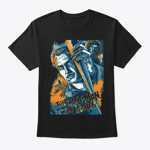 The Last Man Black T-Shirt Front