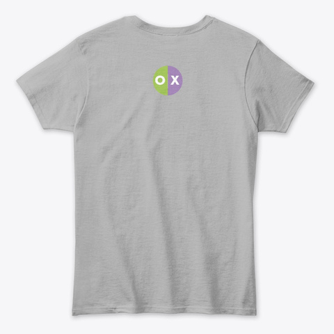 The Presh Mems Shirt Sport Grey T-Shirt Back