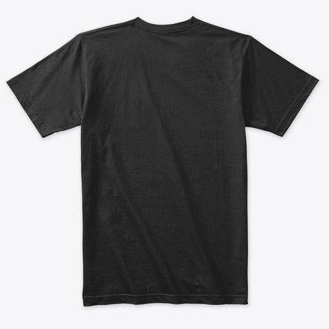 Triblend Men's Tshirt Vintage Black T-Shirt Back