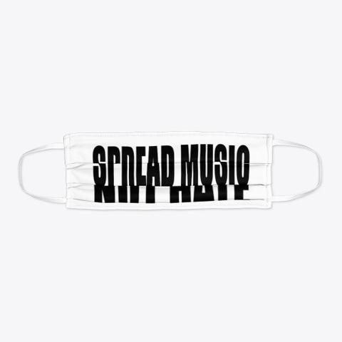 Spread Music Not Hate Mask Standard T-Shirt Flat