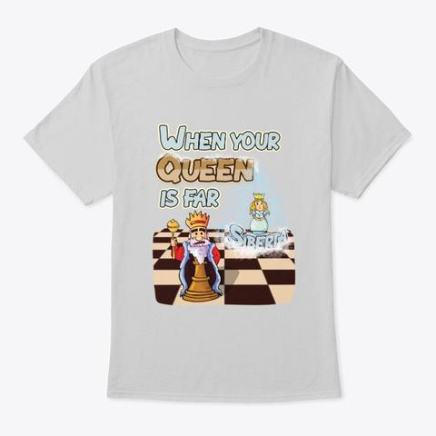 Queen In Siberia Light Steel T-Shirt Front