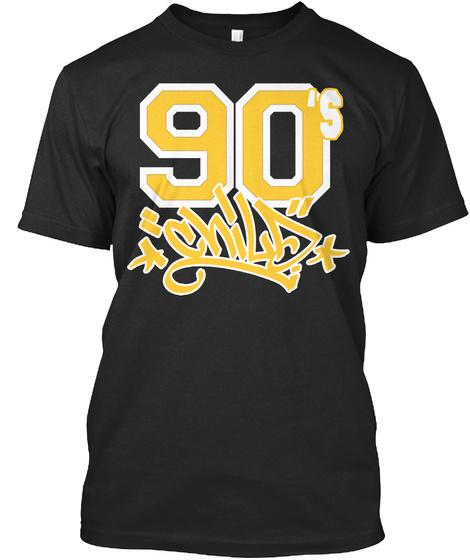 90's Chi La Black Camiseta Front