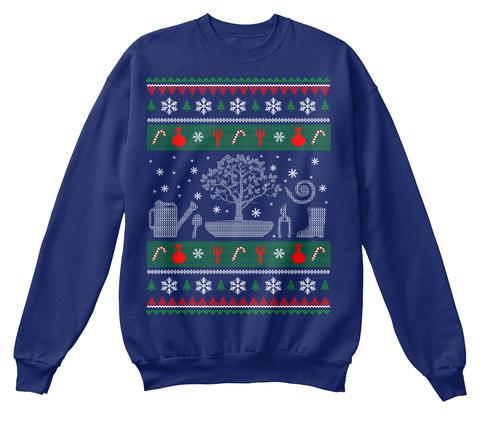 Limited Edition   Gardening Oxford Navy Sweatshirt Front