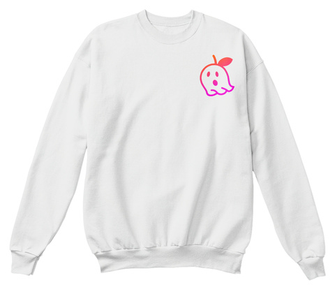Poison House White  Sweatshirt Front