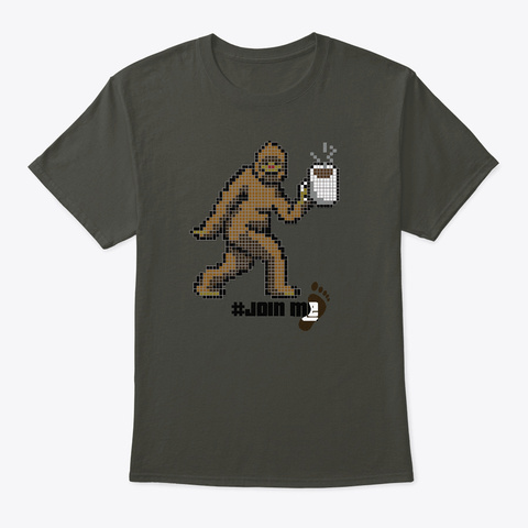Join Me For Coffee Bigfoot Pixel Art