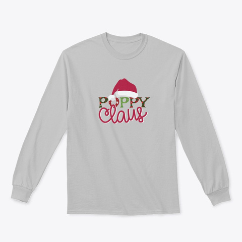 Poppy Claus   Limited Time Only Sport Grey T-Shirt Front