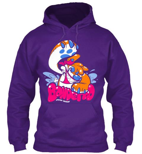Bandetto  Purple Sweatshirt Front