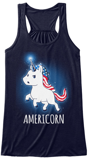 Americorn Midnight T-Shirt Front
