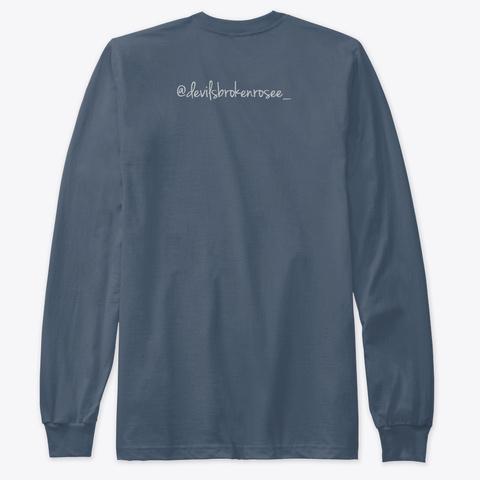 Pretty Lifee Indigo T-Shirt Back