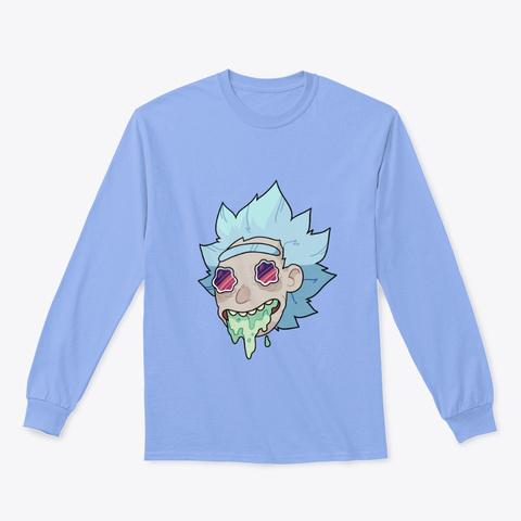 Trippy Rick Light Blue T-Shirt Front