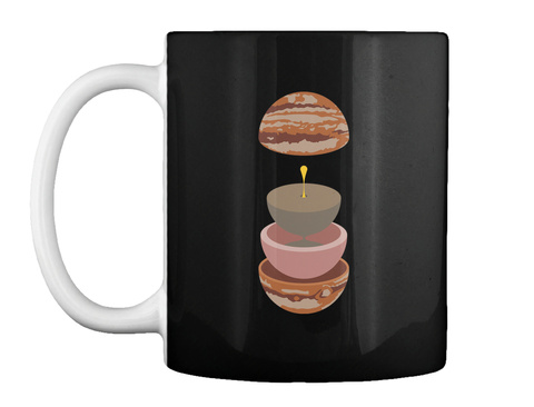 Layers Jupiter Mug V [Int] #Sfsf Black Mug Front