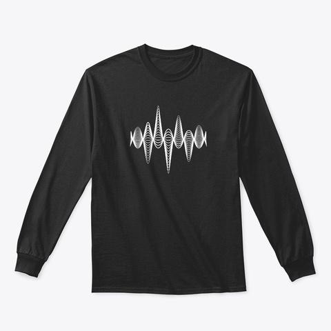 Long Sleeve Tee: Inspiration Black T-Shirt Front